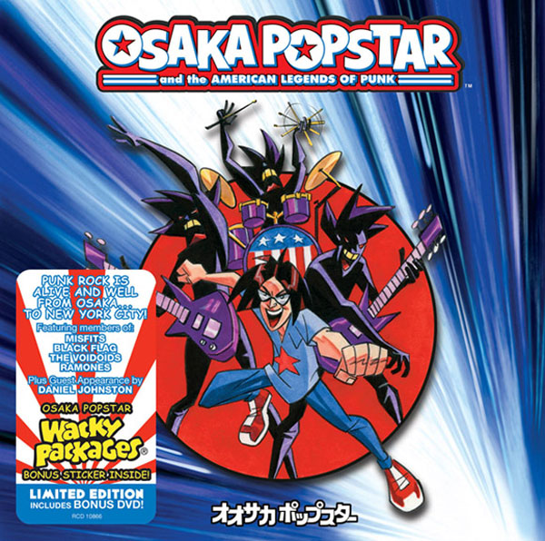 Osaka Popstar and the American Legends of Punk!